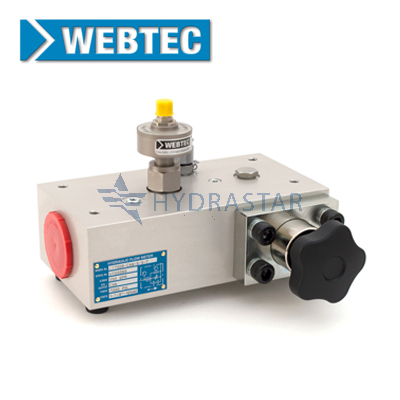 Webtec Products CT750R Hydraulic Turbine Flow Meter - FT9510
